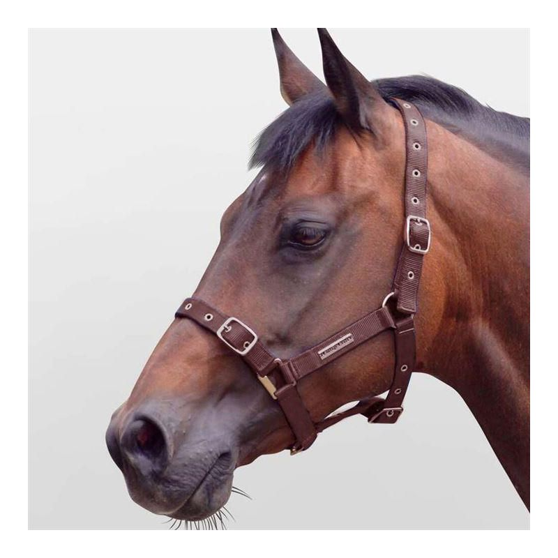 COTTAGE CRAFT HEADCOLLAR FULLY ADJUSTABLE BROWN