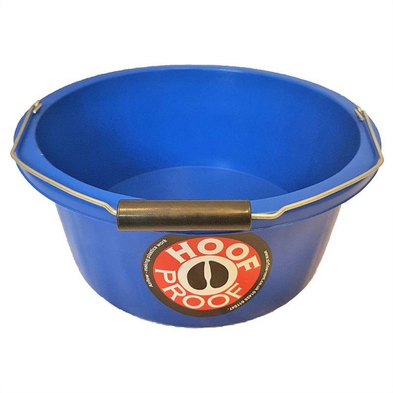 HOOF PROOF SHALLOW FEEDER/MULTI PURPOSE BUCKET 15 LT