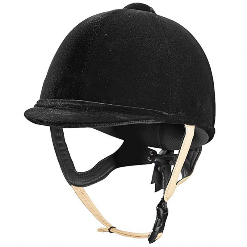 BLACK CALDENE TUTA JUNIOR RIDING HAT