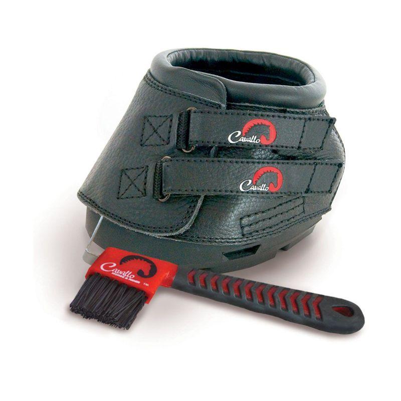 Cavallo Simple Boot Slim With FOC Hoof Pick & Brush