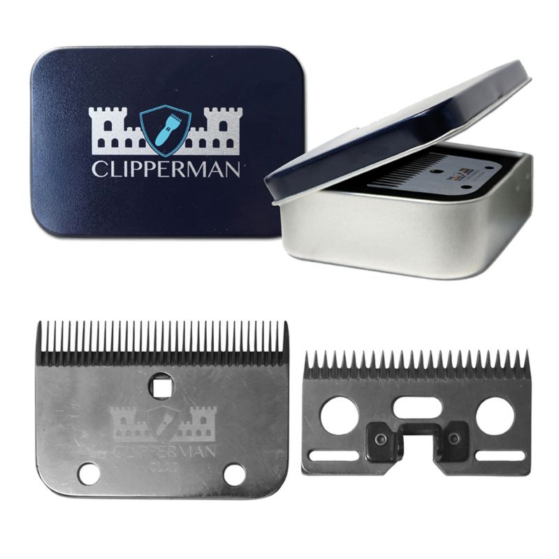 CLIPPERMAN CLA2 HIGH QUALITY STEEL BLADE SET