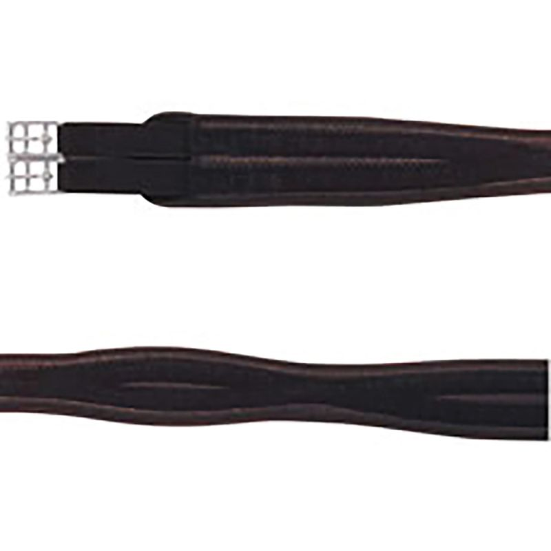 COTTAGE CRAFT GIRTH SHAPED PVC BROWN