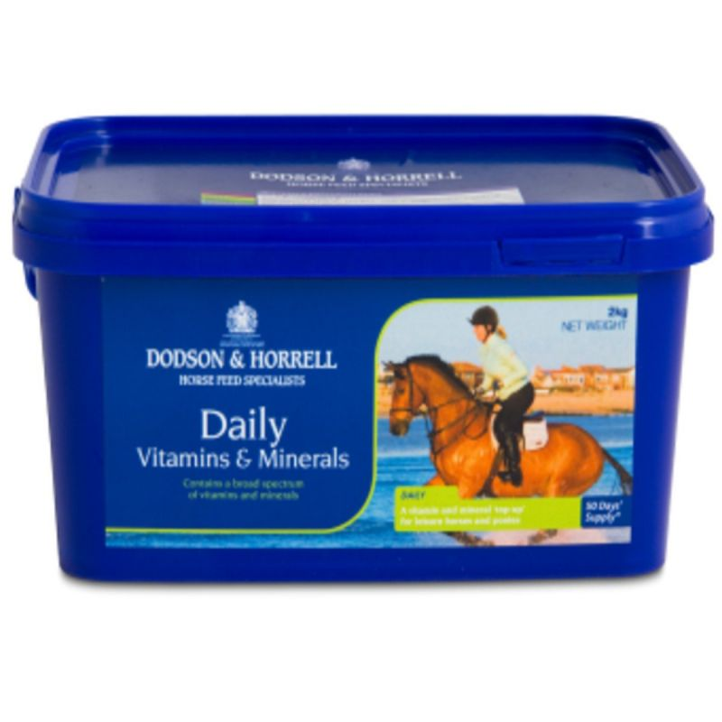 Dodson & Horrell Daily Vitamins & Minerals for Horses - 2 Kg Tub