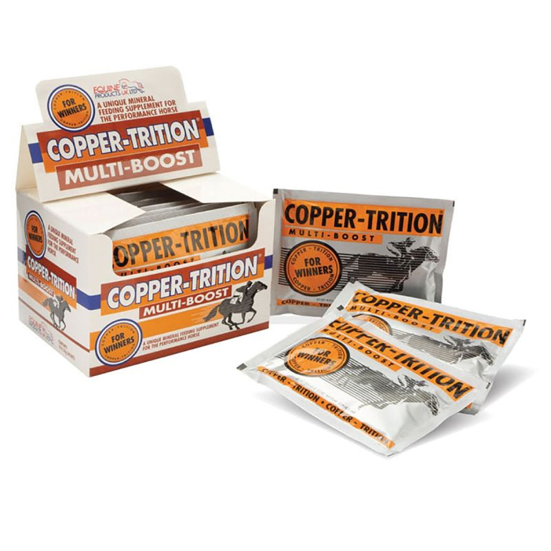 EQUINE PRODUCTS COPPER-TRITION MULTI BOOST - 10 X 50 GM SACHET