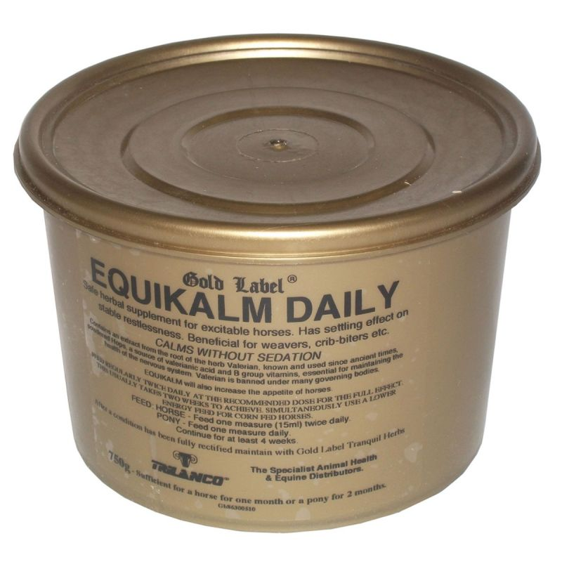 GOLD LABEL EQUIKALM DAILY - 750GM