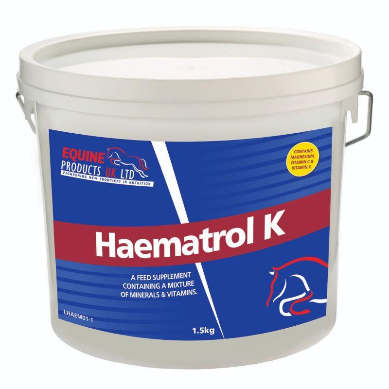 EQUINE PRODUCTS HAEMATROL K 1.5 G