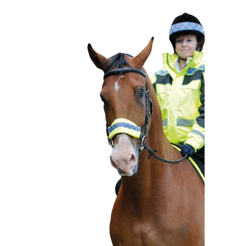 EQUISAFETY POLITE NOSE/BROW/REIN BAND