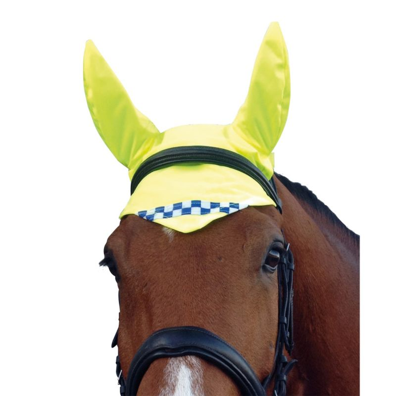 QUISAFETY POLITE REFLECTIVE HI-VIS HORSE EAR COVERS
