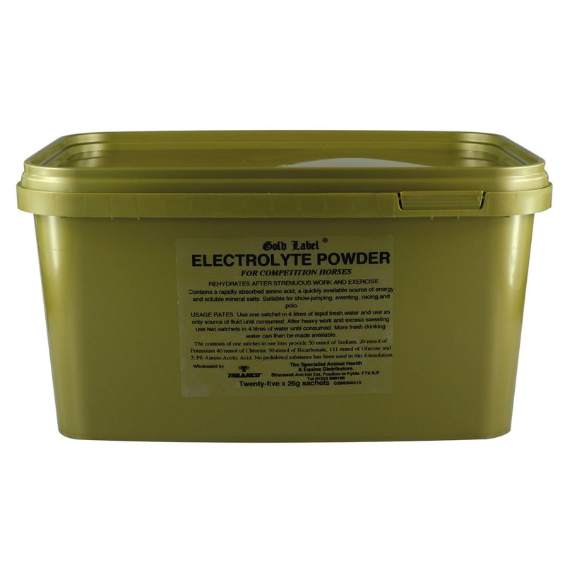 GOLD LABEL ELECTROLYTE