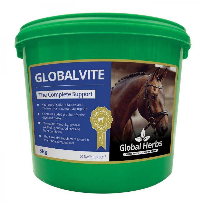 Global Herbs GlobalVite for Horses