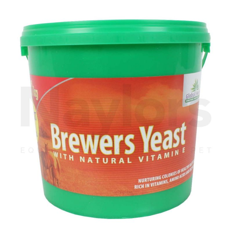 Global Herbs Brewers Yeast - 1kg
