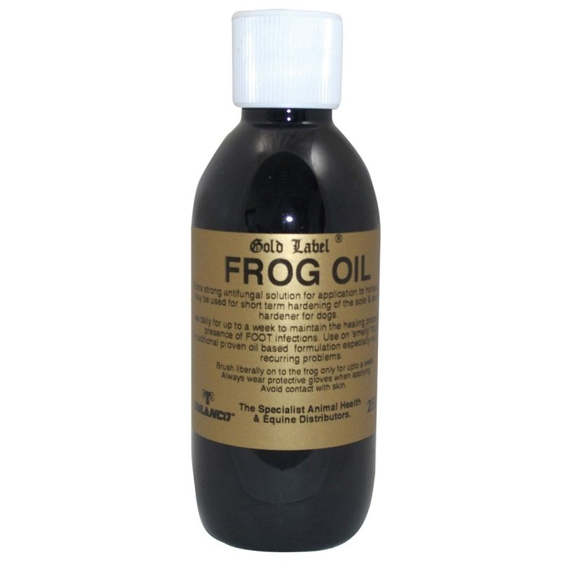 GOLD LABEL FROG OIL