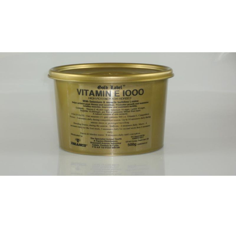 Gold Label Vitamin E