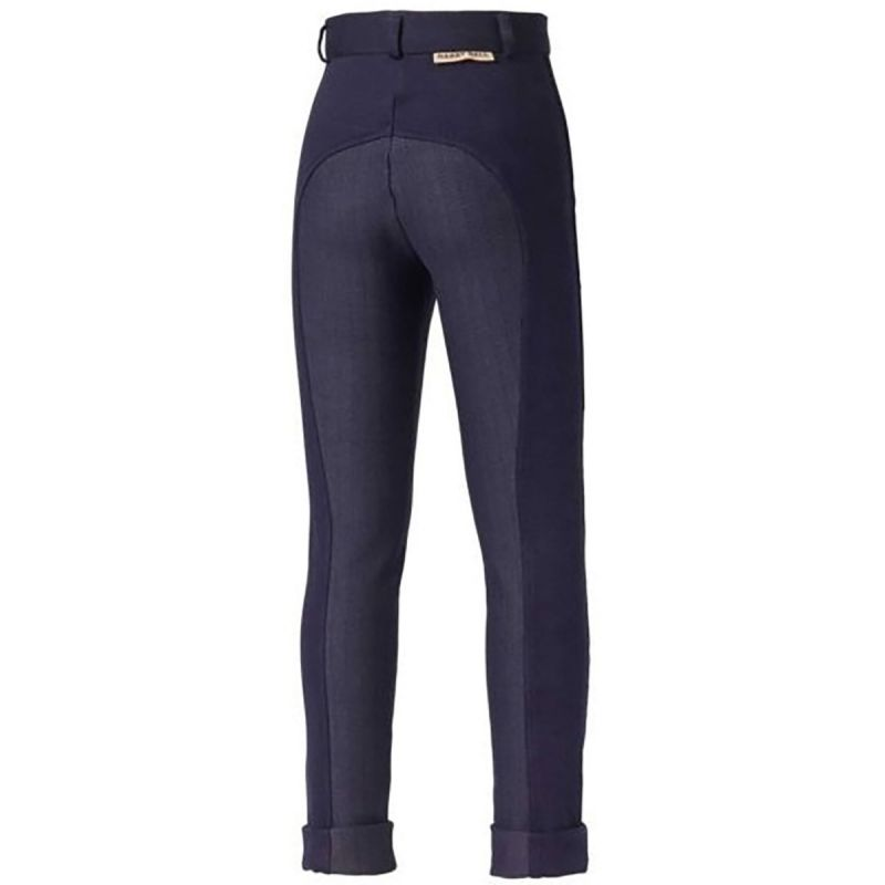 HARRY HALL BREECHES CHESTER STICKY BUM JUNIOR NAVY