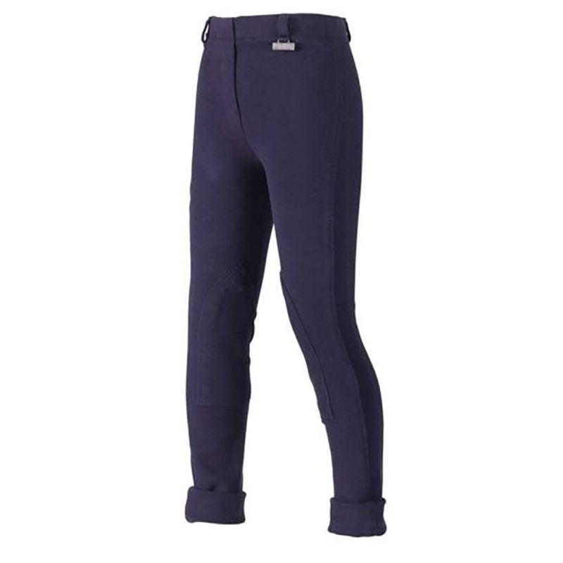 HARRY HALL JODHPURS CHESTER GVP CHILDS NAVY