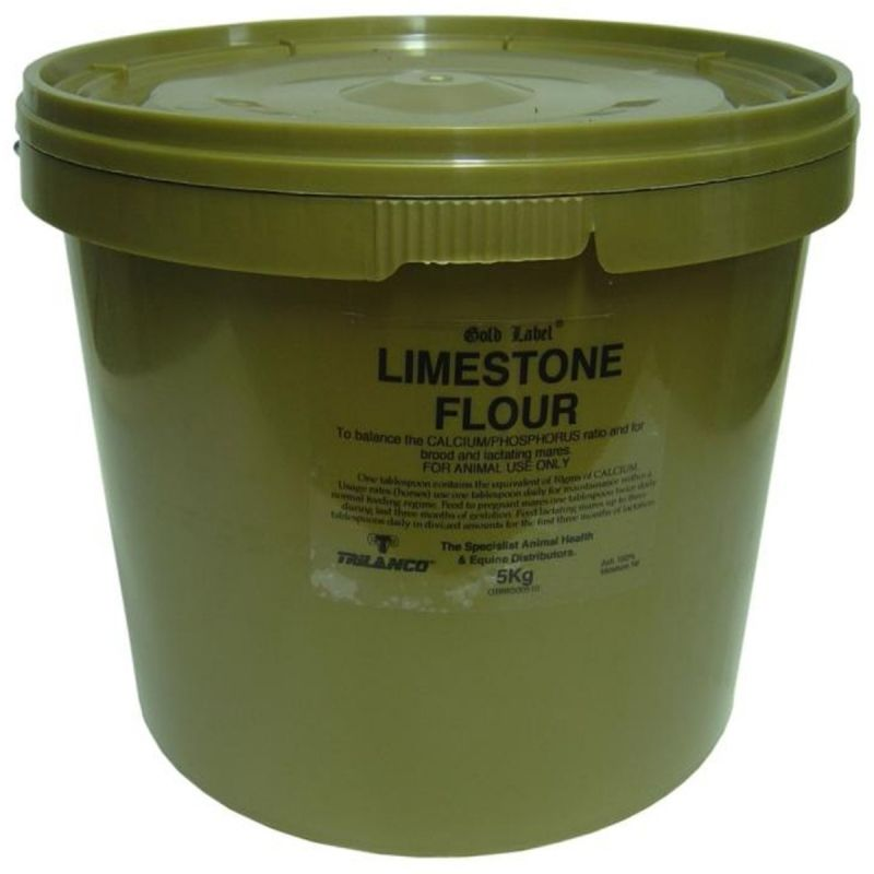 Gold Label Limestone Flour for Horses - 5 Kg Tub