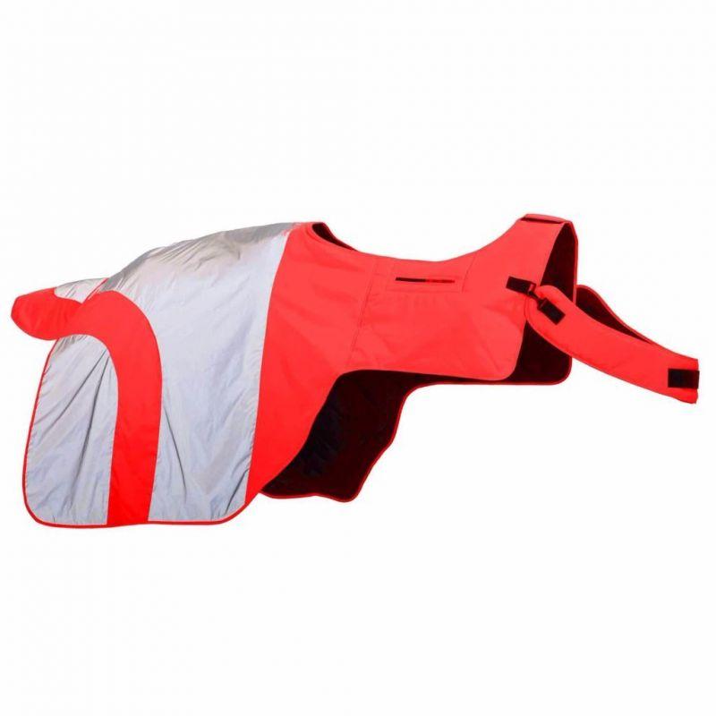 EQUISAFETY MERCURY EXERCISE RUG RED/ORANGE