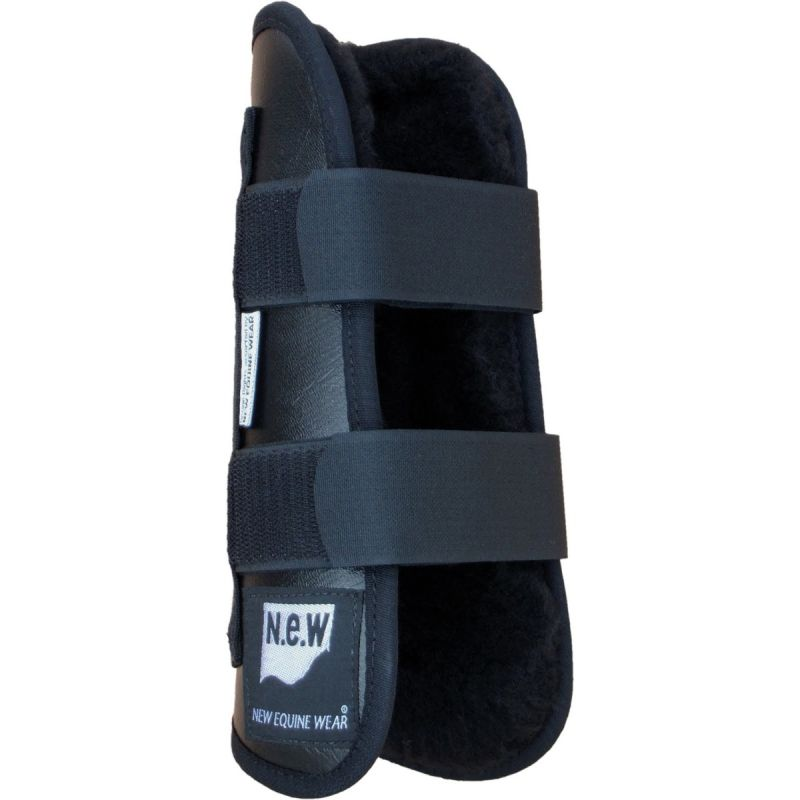NEW EQUINE WEAR OPEN TENDON FLEECE BOOT