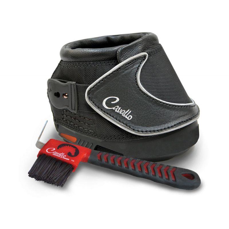 Cavallo Sport Boot Slim With FOC Hoof Pick & Brush