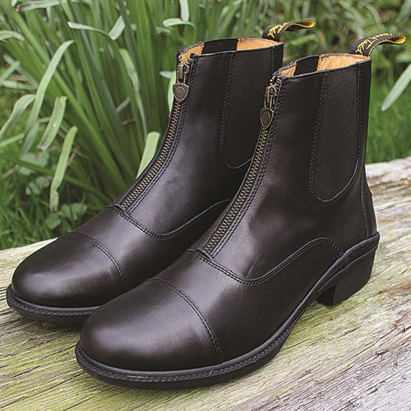 MARK TODD PADDOCK BOOTS CHETWODE ZIPPED ADULT BLACK