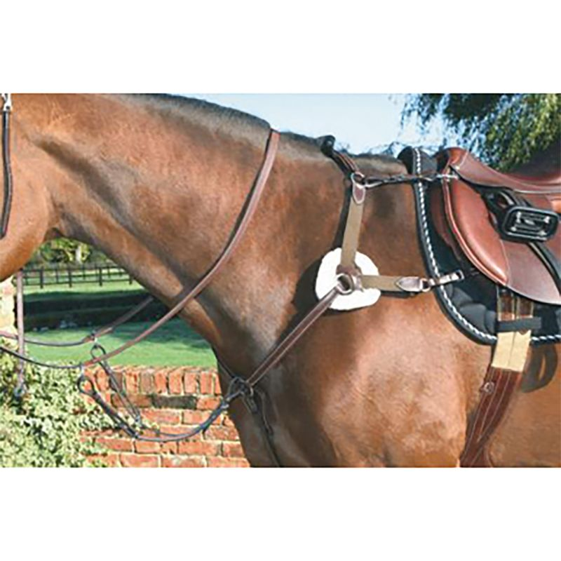 MARK TODD BREASTPLATE 5-POINT DELUXE BLACK