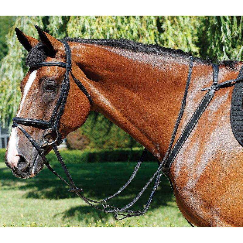 MARK TODD BREASTPLATE PERFORMANCE ELASTIC BLACK