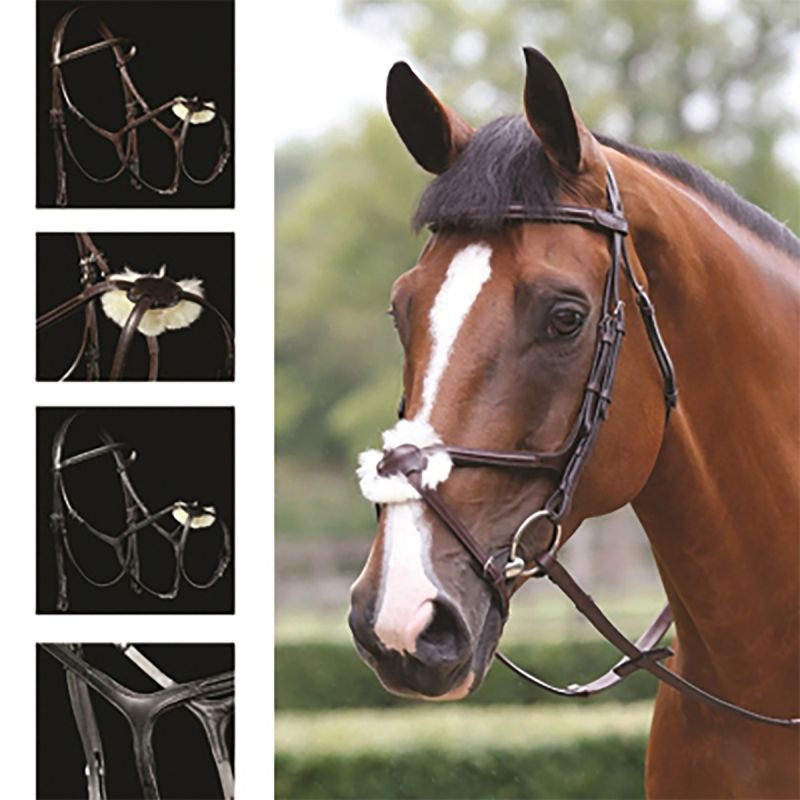 MARK TODD BRIDLE PERFORMANCE FIGURE OF 8 BLACK