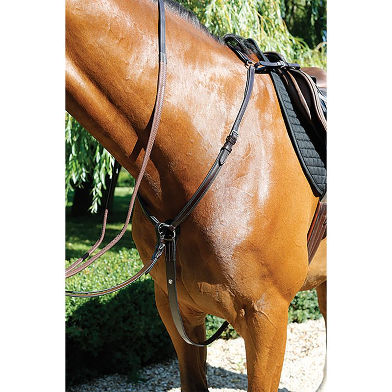 MARK TODD BREASTPLATE PADDED HAVANA